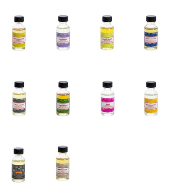 Satya Assorted Fragrance Oil 10 Bottles Pack Total 300 ml