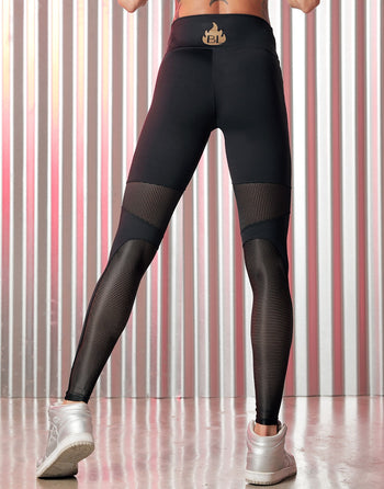 Leggings A Fuego 2257
