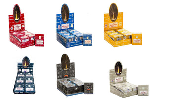 Satya Assorted Dhoop Cones 12 Boxes Total 144 Cones