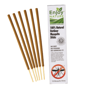 Mosquito Repellent - Enjoy Nature 100% Natural Incense
