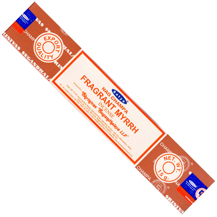 Satya Fragrant Myrrh Incense