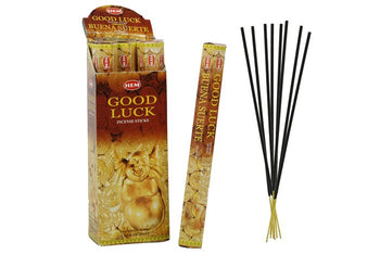 HEM Good Luck Hexa 6 Pack 120 Incense Sticks