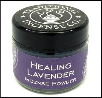 Healing Lavender - Traditional 100% Natural Incense Powder 20gm