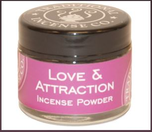 Love & Attraction - Traditional 100% Natural Incense Powder 20gm