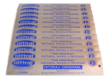 Natural Masala Incense - Nitiraj Original