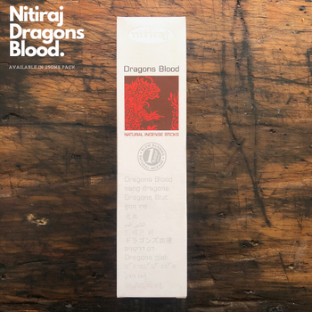 Dragons Blood - Nitiraj Platinum 100% Natural Incense