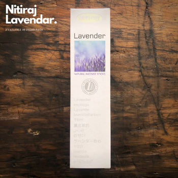 Lavender - Nitiraj Platinum 100% Natural Incense