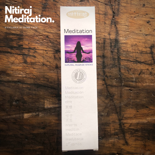 Meditation - Nitiraj Platinum 100% Natural Incense