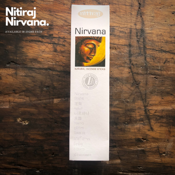 Nirvana - Nitiraj Platinum 100% Natural Incense