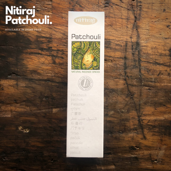 Patchouli - Nitiraj Platinum 100% Natural Incense