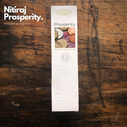 Prosperity - Nitiraj Platinum 100% Natural Incense