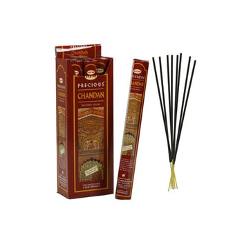 HEM Precious Chandan Hexa 6 Pack 120 Incense Sticks