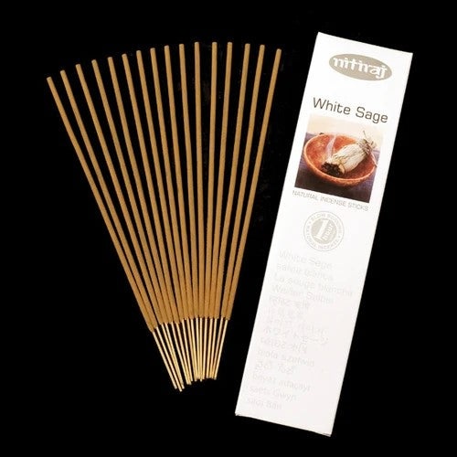 White Sage - Nitiraj Platinum 100% Natural Incense