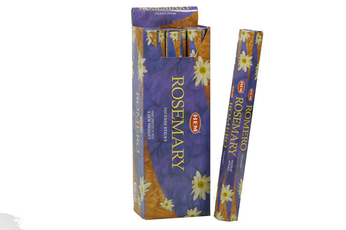 HEM Rosemary Hexa 6 Pack 120 Incense Sticks