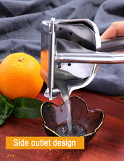 Manual Press High Quality Stainless Steel Lemon Lime Citrus Orange Squeezer
