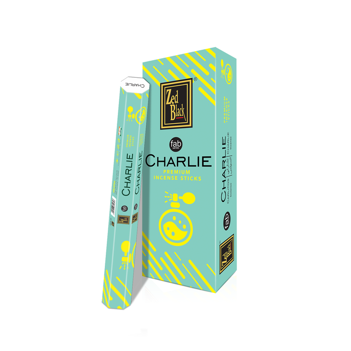 Zed Black Charlie Fab Series Incense Sticks