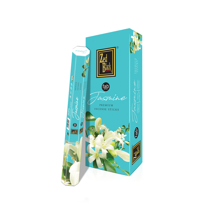 Zed Black Jasmine Fab Series Incense Sticks