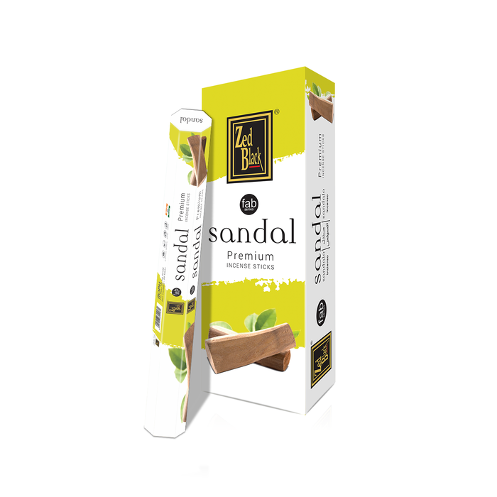 Zed Black Sandal Fab Series Incense Sticks