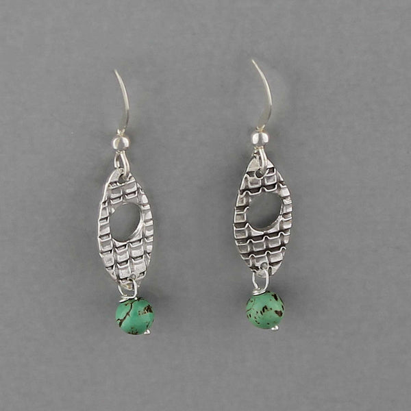 Turquoise Drops - Earrings