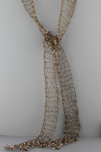 Wire Scarf-Bronze