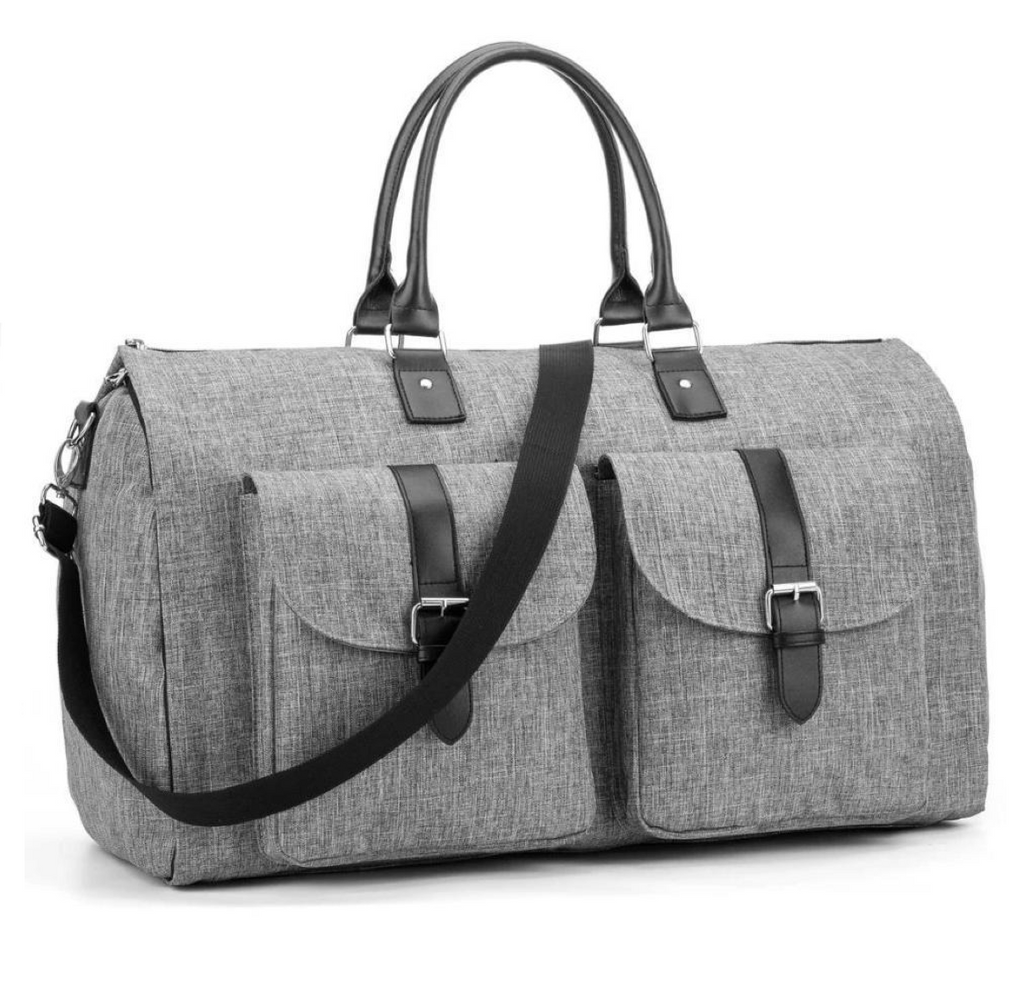 Nylon Garment Duffle Bag