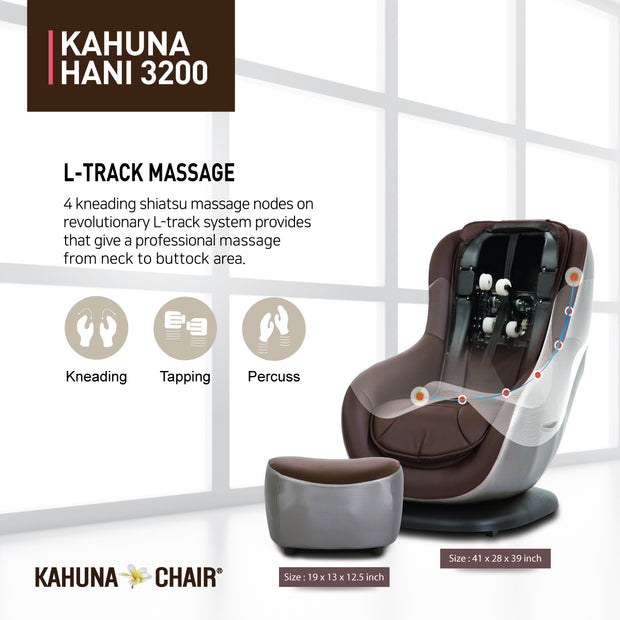 Kahuna Chair HANI-3200 Brown