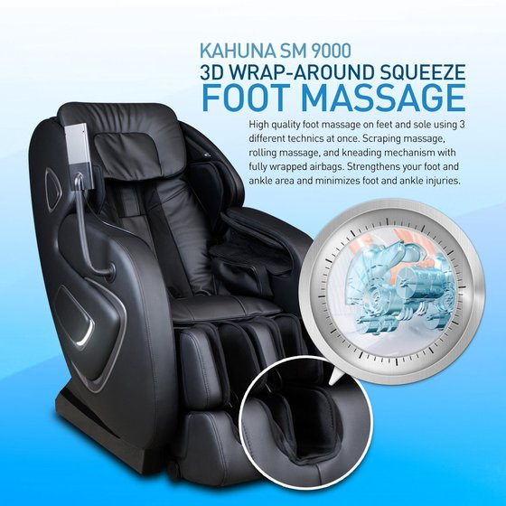 Kahuna Chair SM-9000 Black