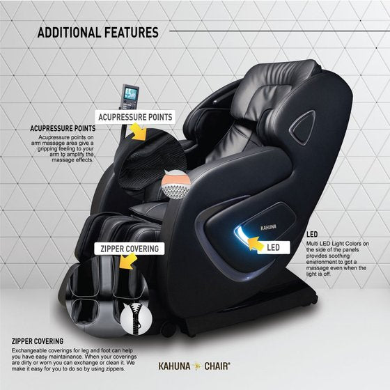 [OFFLINE EXCLUSIVE DEALS] Kahuna Chair SM-9000 Black