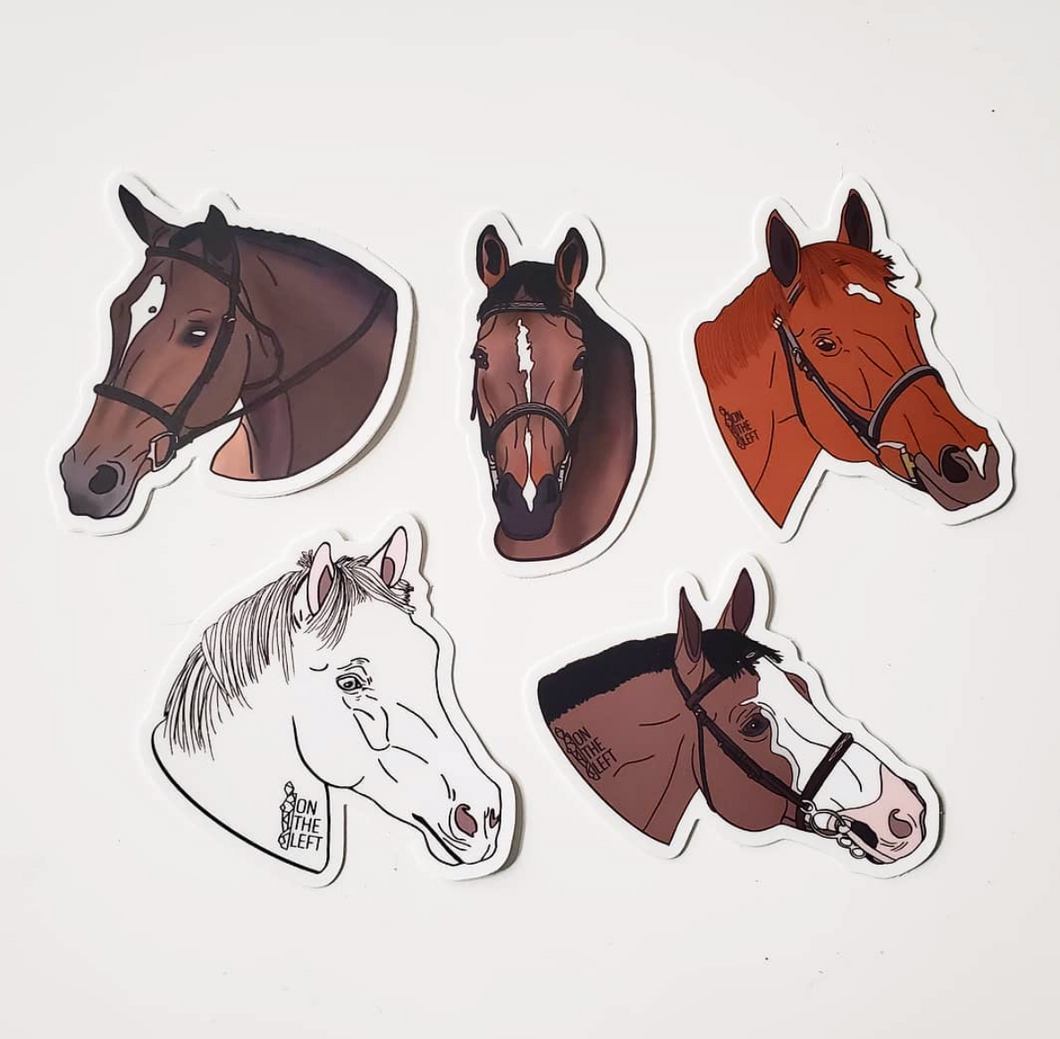 Custom Horse Sticker