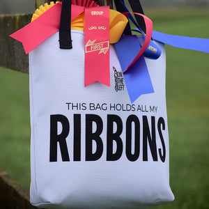 """This Bag Holds All My Ribbons"" Tote"