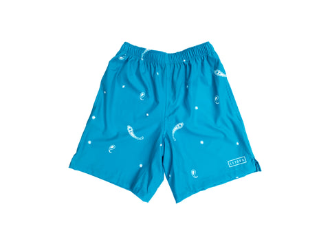 DIG 4 COMPETITION SHORT (turquoise)