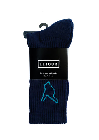 DIG 4 PERFORMANCE SOCK (navy)