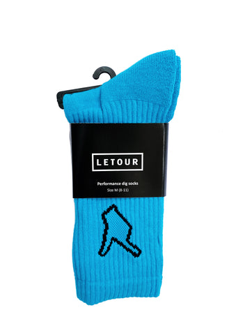 DIG 4 PERFORMANCE SOCK (turquoise)