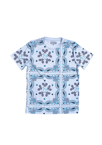 DIG 4 TRAINING SHIRT (white/navy/turquoise)
