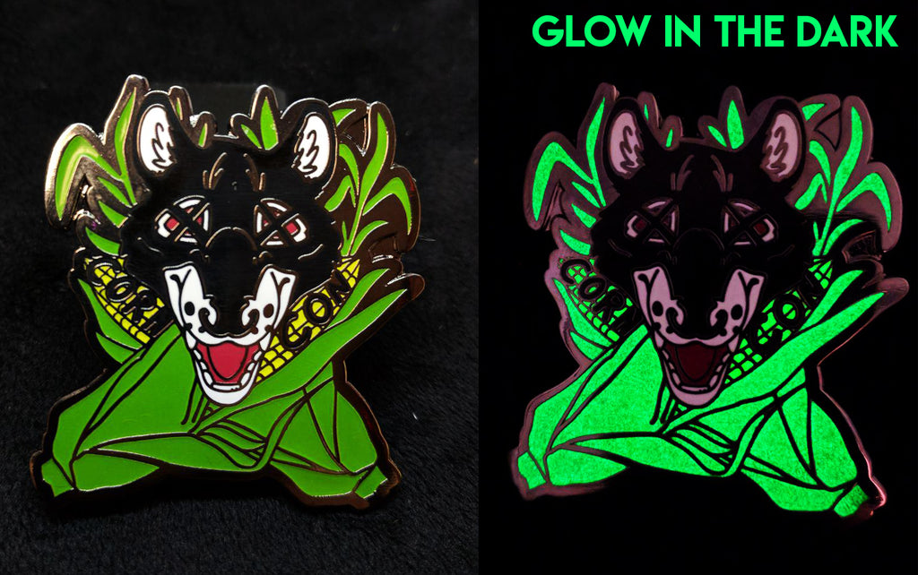 CornCon Pin (Glow in the Dark)