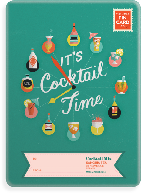 Cocktail Mix - TheLittleTinCardCo