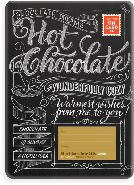 Hot Chocolate - TheLittleTinCardCo