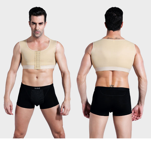 41456c4e8f Men Gynecomastia Compression Boobs Body Shaper