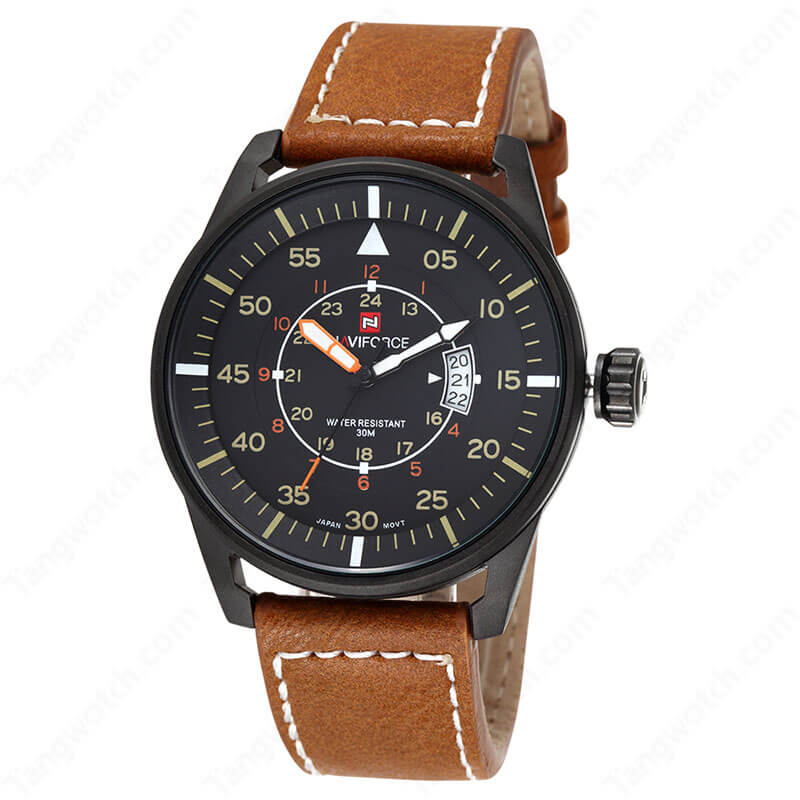 en original aemresponsive light leather products brown watch main us pdp automatic sku boyfriend watches fossil
