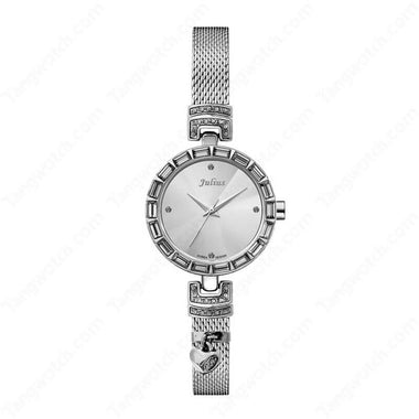 Julius IP Silver Alloy Case Alloy Band Women's Fashion Casual Watch TW019-JA-491A