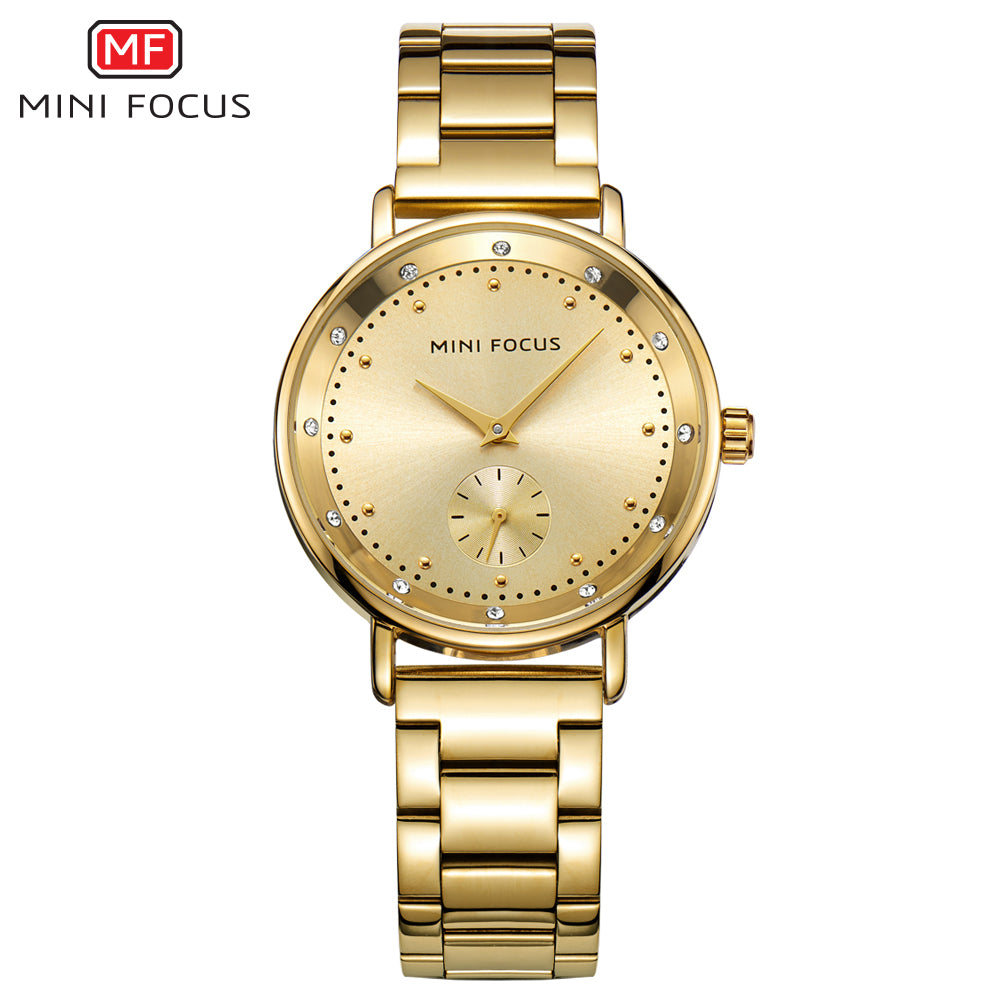quartz golden watches zaful watch wrist rhinestoned p online