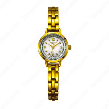 Julius Stainless Steel Case Back Japan Movt 3ATM Water Resistant  Golden Women's Watches TW019-JA-865B