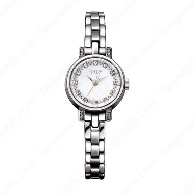 Julius IP Silver Alloy Case  Water Resistant Women Watches TW019-JA-883A