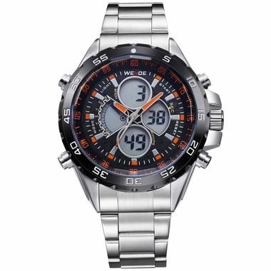 WEIDE Watch Men Automatic With Stainless New Design Fashion Boys Watch TW001-WH1103-3C
