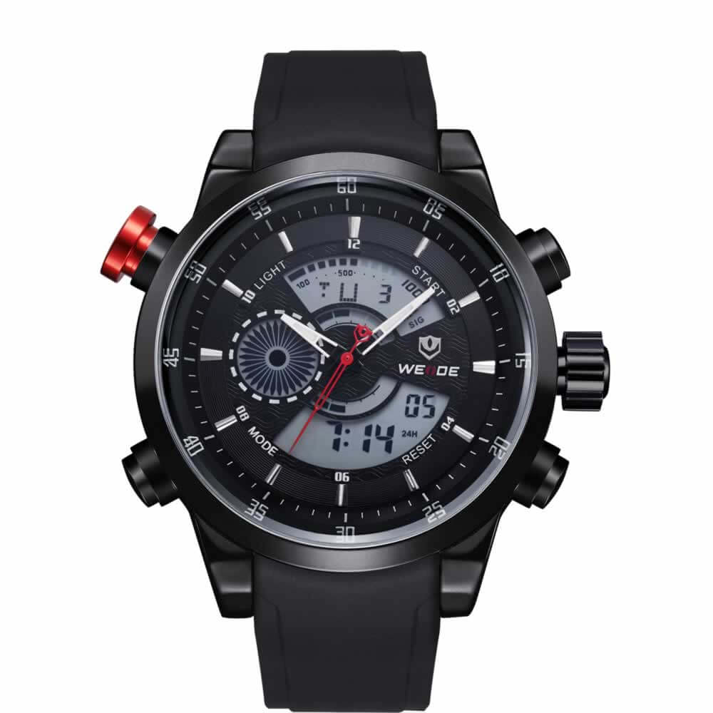 product shark clock army red analog band relogio dial masculino sport jewelry quartz salmon watch silicone brand men s military luxury watches mens