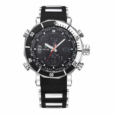 WEIDE Watch Diver LCD Movement Water Resistant Watches Men TW001-WH5203-7C