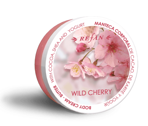 Body creme butter Wild cerry, paraben fri, 200ml