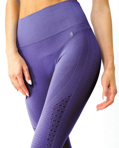 Mesh Seamless Set - Purple Savoy Active