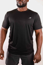 Load image into Gallery viewer, Short Sleeve Shirt - Black Savoy Active