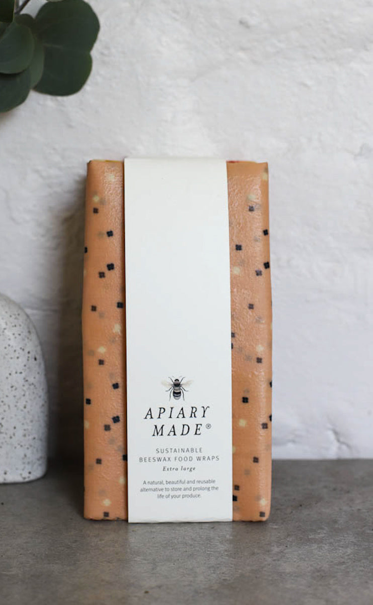 Scent'sation | APIARY MADE Extra Large Beeswax Wrap - TWYG